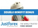 Double Benefit Bonus – Justforex