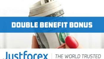 Double Benefit Bonus – Justforex